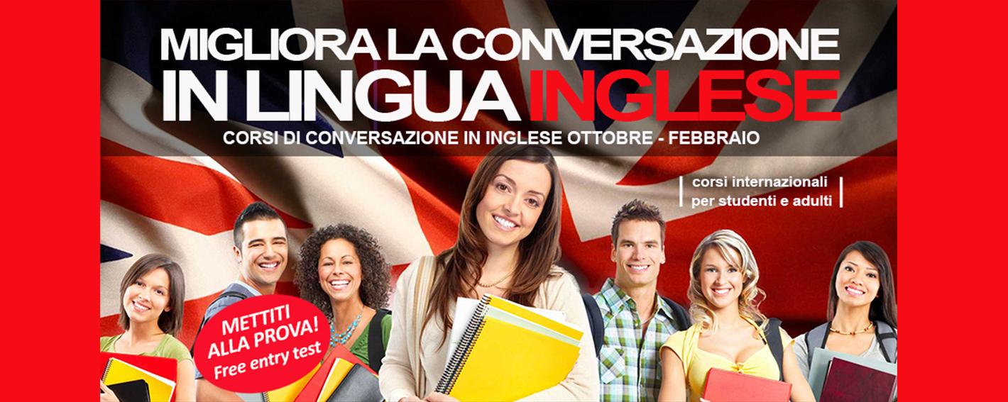 CORSI DI CONVERSAZIONE IN INGLESE